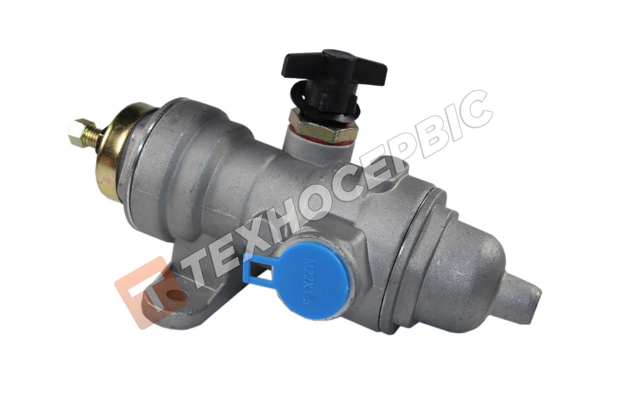 Регулятор давления воздуха с подкачкой КАМАЗ-5320, 4310, 5511, МАЗ-5335, 5551,РДВ разгрузка воздуха на камаз
