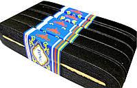 Резинки для одежды (20мм/8м) черный, ленты эластичные