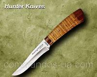 Нож охотничий. Рукоять - береста, фото 1