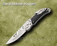 Походный выкидной нож со штопором и пивной открывалкой