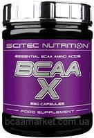 Аминокислоты Scitec Nutrition BCAA-X, 330 caps