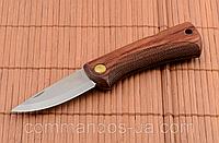 Нож складной, карманный. Сталь 8Cr13MoV. Рукоять - красное дерево., фото 1