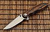 Нож складной для туризма, рыбалки и охоты. Сталь 8Cr13MoV. Рукоять дерево.