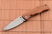 Нож складной для повседневного использования. Сталь 8Cr13MoV. Рукоять - дерево., фото 1