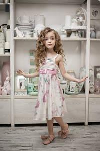 Итальянские нарядные платья для девочек, юбки и шорты