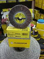 Лепестковый шлифовальный круг SM 611 Klingspor 100х30х20 Р80