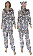 NEW! Махровые пижамы кигуруми для девушек и женщин - Gulliver Pink ТМ УКРТРИКОТАЖ!