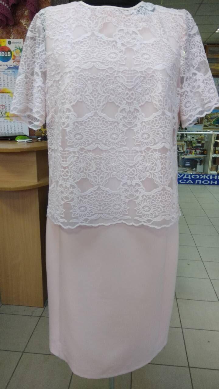 Платье+блузон — Л303-2+Л377 (50р) (ф)