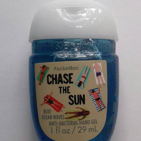 Антибактериальный гель (санитайзер) Bath&Body Works Chase the Sun Blue Ocean Waves, фото 2