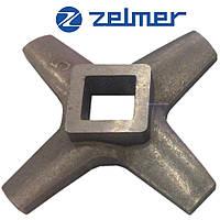 ✅Нож для мясорубки Zelmer NR5 (ОРИГИНАЛ) Односторонний 86.1007 631383 (ZMMA015X)