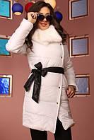 Куртка женская с меховым воротником (К3733)