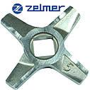 Двухсторонний нож для мясорубки Zelmer NR5 (ОРИГИНАЛ) 86.1009 631384, фото 2