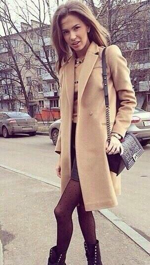 Пальто женское кашемировое (К6542)