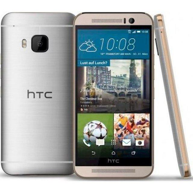 "Смартфон HTC One M9 Silver-Gold 3/32GB, 20/4Мп, 5"" LCD, 2840mAh, 1sim, Snapdragon 810, 8 ядер, 4G (LTE)"
