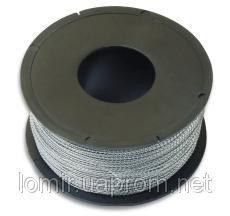 Проволока пломбировочная  0,6*0,3; 280м витая двужильная метал.  (Украина)