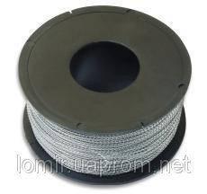 Проволока пломбировочная металлополиамидная 0,5* 0,3; катушки от 200м (Украина)