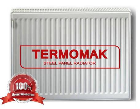 Стальной Радиатор отопления (батарея) 500x2000 тип 22 Termomak (боковое подключение), фото 2