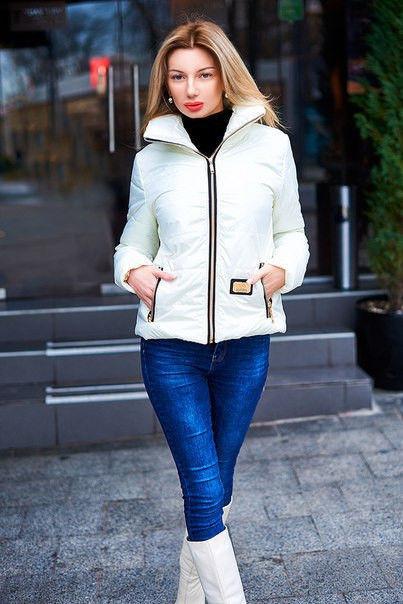 Куртка женская на синтепоне короткая (К8973)