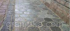 Брусчатка шестигранник (красная) капустинское, фото 3