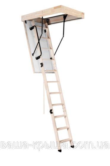 Лестница 3-секционная деревянная Maxi