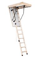 Лестница 3-секционная деревянная Maxi, фото 1