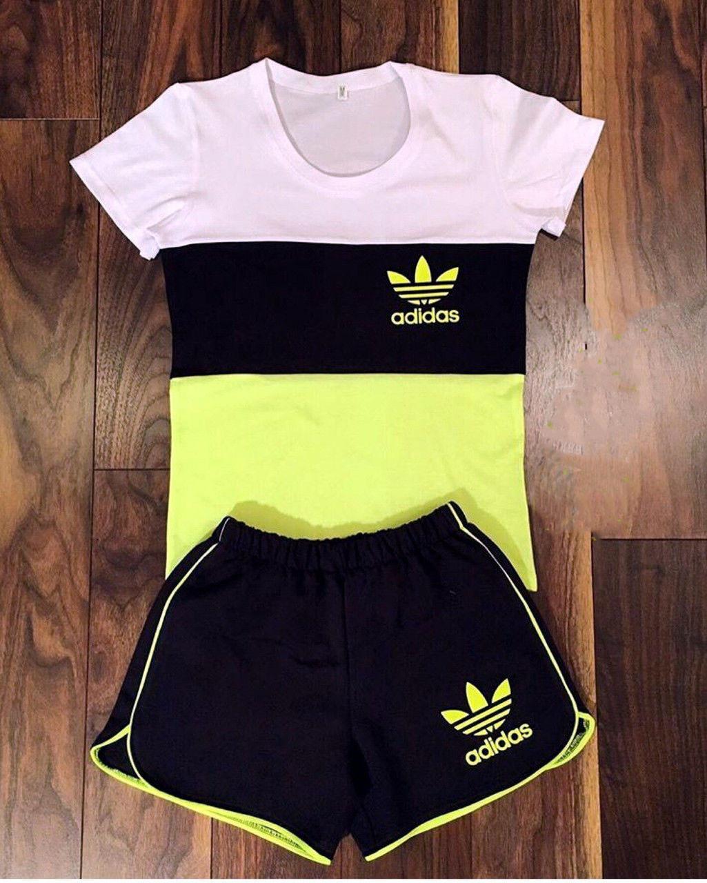 Костюм спортивный женский летний с шортами (К9798)