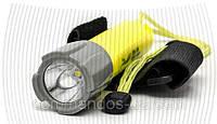 Подводный фонарь для охоты или дайвинга на аккумуляторе police PF 06-T6 / 98D, желтый, фото 1