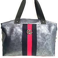 Брендовые сумки Gucci швейка (синий)30*40