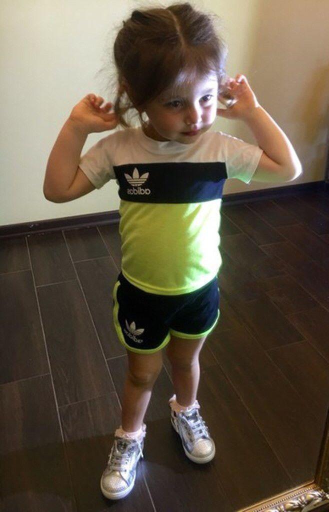 Костюм спортивный летний детский для девочки (К10117)