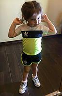 Костюм спортивный летний детский для девочки (К10117), фото 1