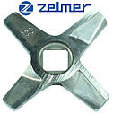 Нож для мясорубки Zelmer 8 Двухсторонний (ОРИГИНАЛ), фото 3