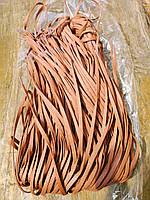 Шнуровка воскованная коричневая плоская