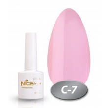 """Гель-лак Nice for you """"Cool"""" С-7 (нежно-розовый, холодный), 8.5 мл"""
