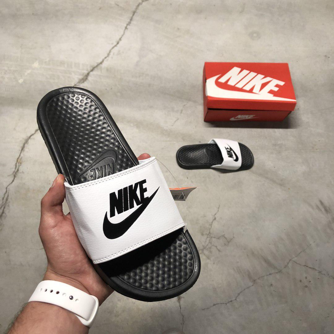 809e43f5 ... Nike Benassi JDI Black White | сланцы мужские (шлепки/щлепанцы); ...