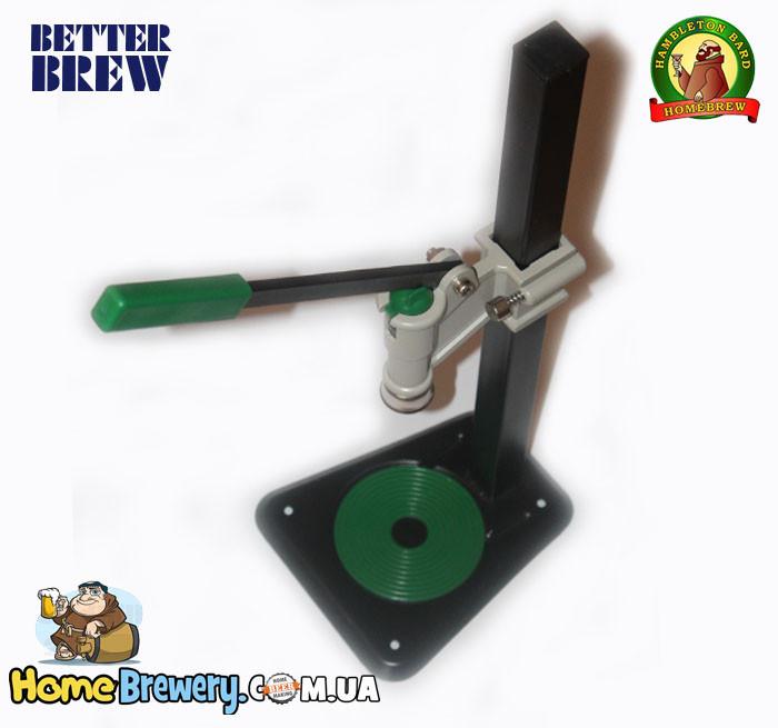 Полуавтоматическая укупорка кроненпробок Bench Capper
