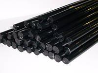 Клей стержневой силиконовый черный 11 мм 1 кг