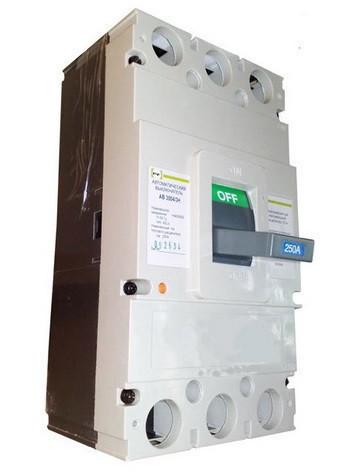 Автоматический выключатель АВ3004/3Н 3П 400А промфактор