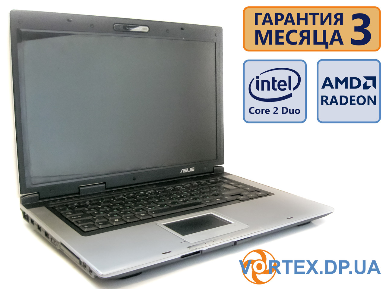 Ноутбук Asus X50VL 15.4 (1280x800) / Intel Core 2 Duo T5750 (2x2.0GHz)