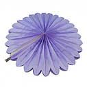 Веерный Круг тишью (фиалковый) 25 см, фото 2
