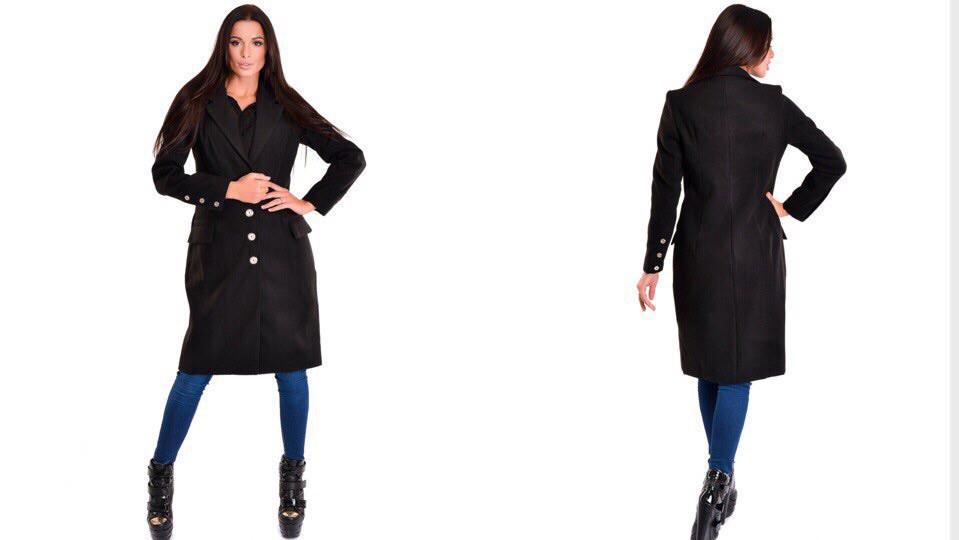 Пальто женское кашемировое на подкладке (К11042)