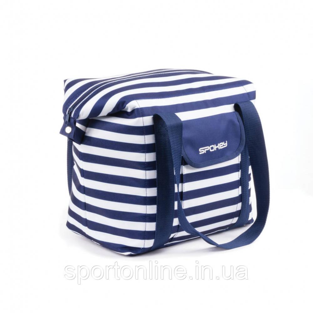 Пляжная сумка Spokey San Remo (original) Польша, бело-зеленая, термосумка