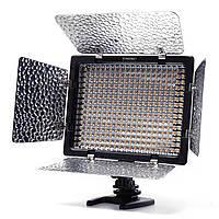 Yongnuo YN300 II  LED светодиодный накамерный видеосвет (3200K-5500K)