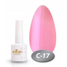 """Гель-лак Nice for you """"Cool"""" С-17 (розовый жемчуг), 8.5 мл"""