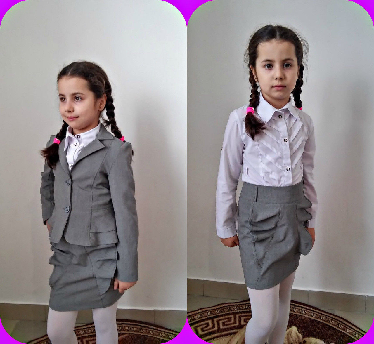 Школьная детская форма (К11080/11081)