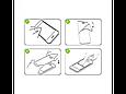 Защитное стекло 5D Full Screen iPhone X - white, фото 4