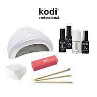 """Стартовый набор для покрытия ногтей гель лаком Kodi с лампой SUN One 48 w """"№14"""""""