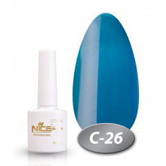 """Гель-лак Nice for you """"Cool"""" С-26 (темно-бирюзовый), 8.5 мл"""