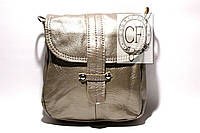 Кожаная женская сумка почтальона