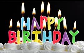 Свечи, наборы свечей, фонтаны в торт