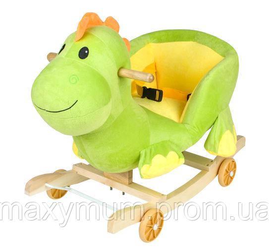 Гойдалка дитяча музична Динозаврик